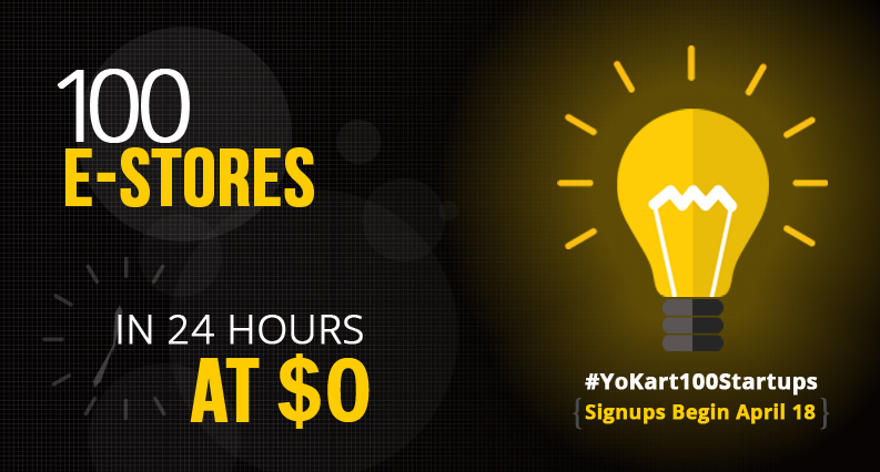 #YoKart100startups: 100 FREE License of Go-Quick Package will be Issued in 24 HRS