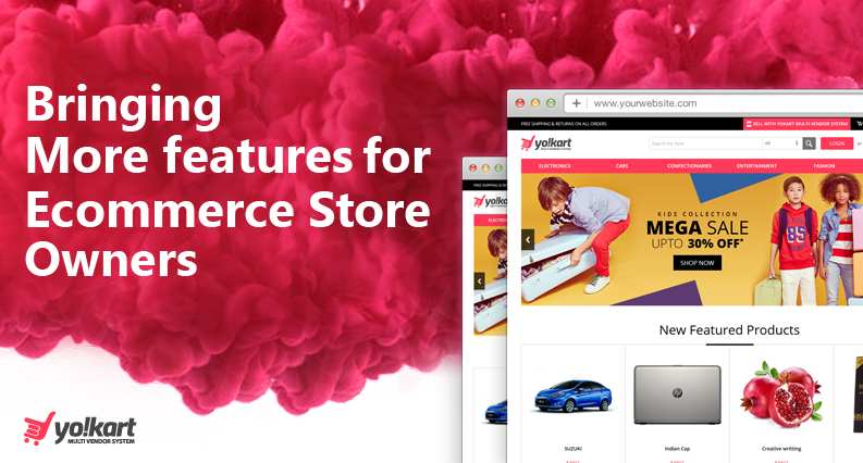 Best Ecommerce Software Features & Recent Updates- Yo!Kart