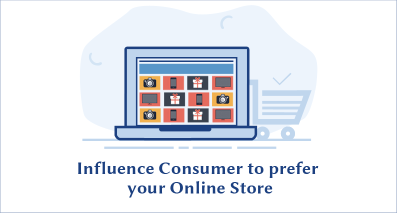 How to influence consumer's purchase decision in favor of your online store?