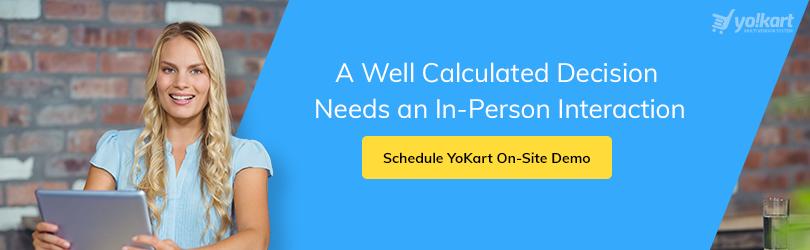 Schedule Onsite YoKart demo