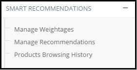Smart Recommendations