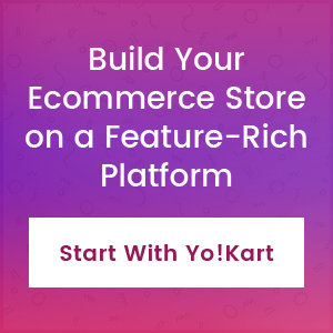 Build your ecommerce store on a feature rich platform