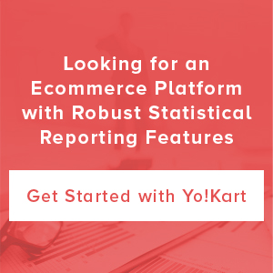 Ecommerce platform with robust reporting features CTA