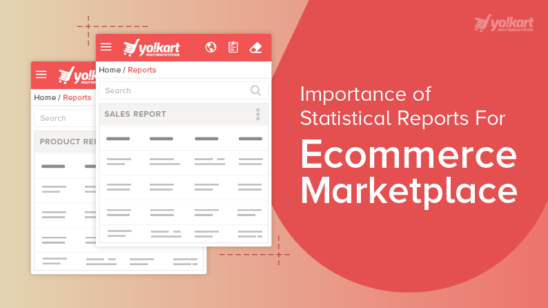 Statistical reports for Ecommerce Platform