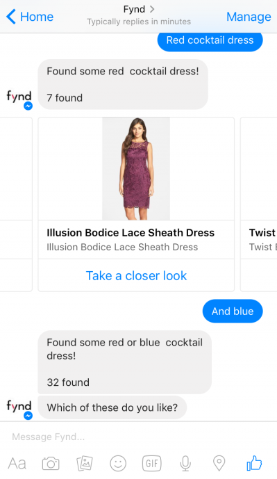fynd chatbot