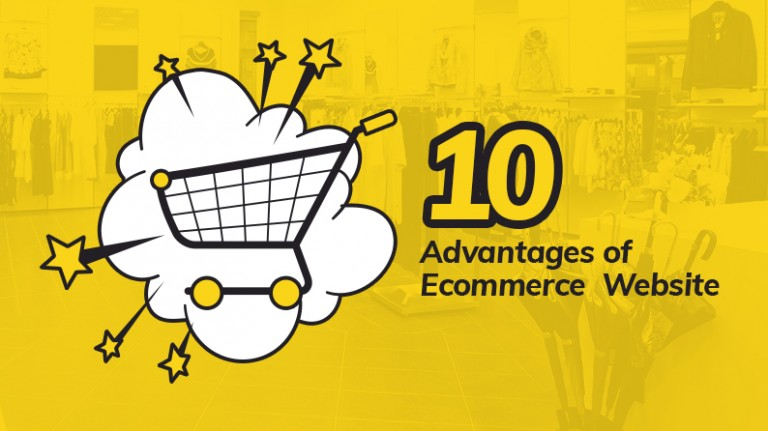 10 advantages of ecommerce website image