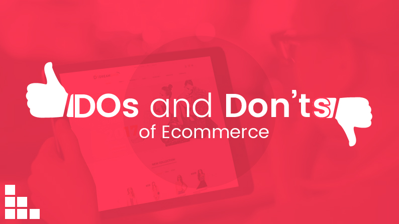 Dos Donts of ecommerce