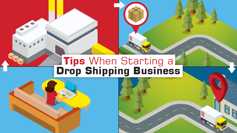 Want To Start a Drop Shipping Ecommerce Business – These Tips Might Be Useful (Infographic)