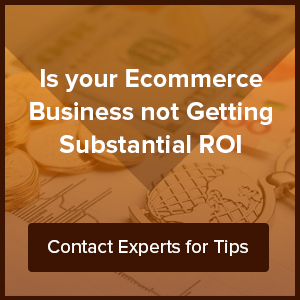 Is your ecommerce business not getting substantial ROI