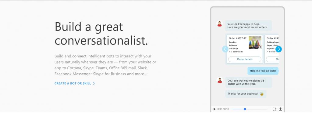 Microsoft Bot