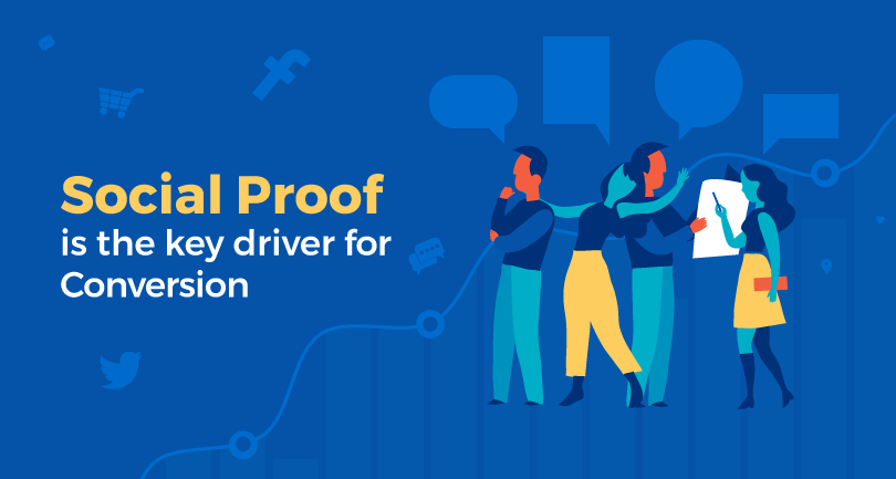 Social proof is the key driver