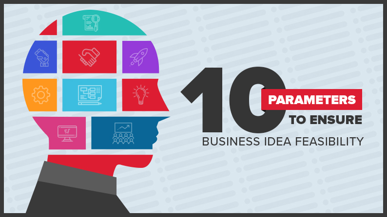 10 parameters to ensure business idea feasibility