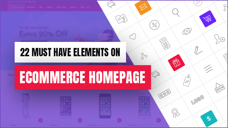 Ecommerce Homepage Elements