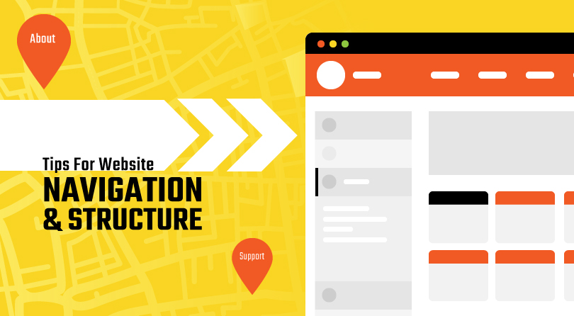 Tips for website navigation