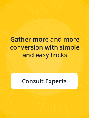 Gathering more & more conversion with Simple and easy tricks