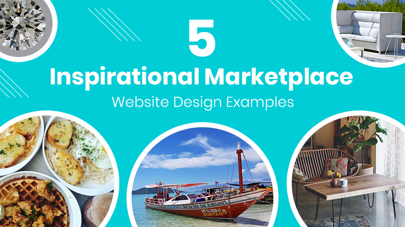 5 Inspirational Marketplace Website Design Examples