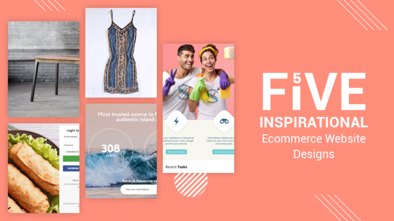 Inspiration ecommerce website designs