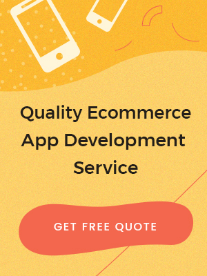 Ecommerce App Development service