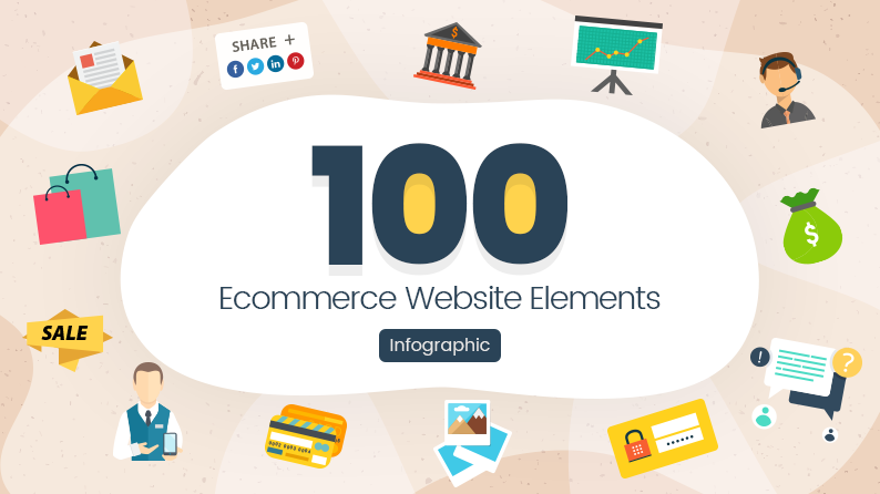 100 Elements of an Ecommerce Website (Infographic)