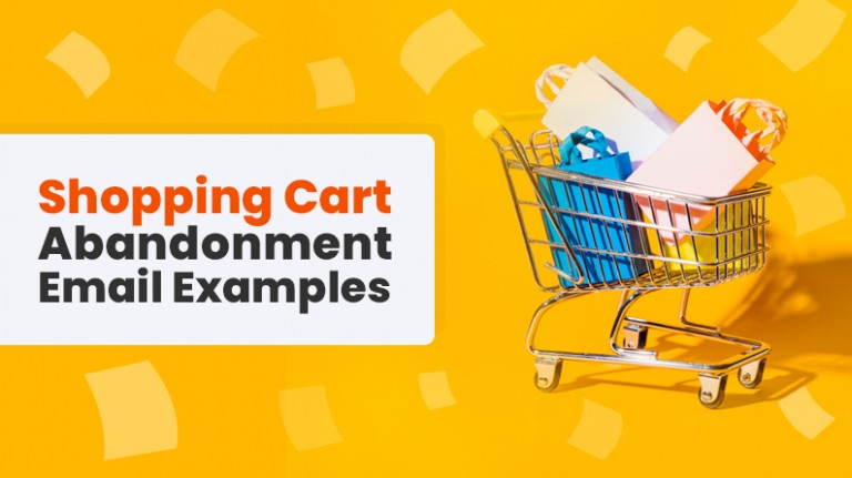 Shopping Cart Abandonment Email Examples
