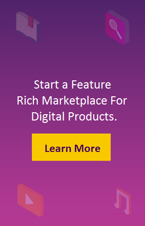 Start a Feature-rich Marketplace for Digital Products