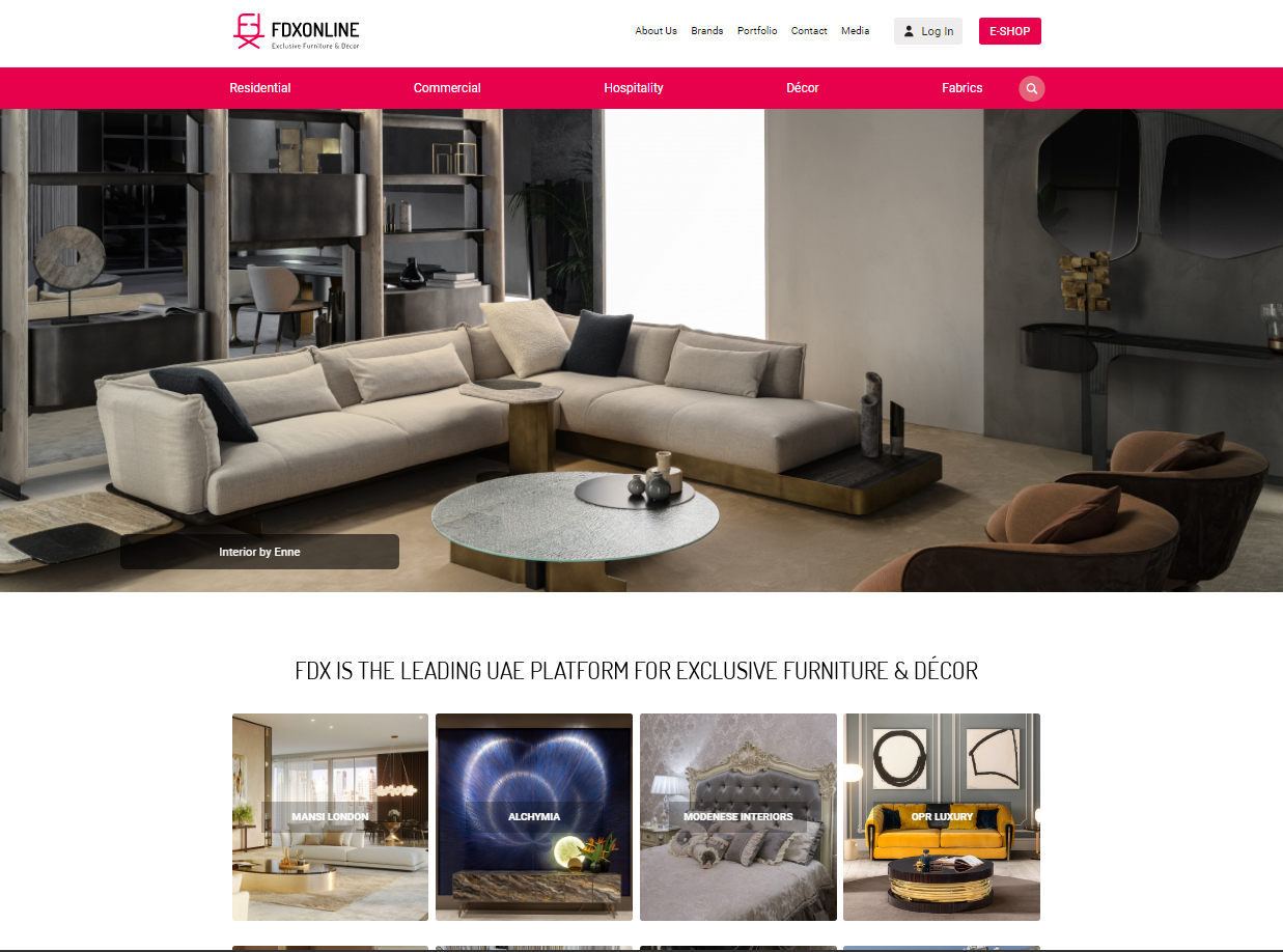 FDX Online Furniture Marketplace