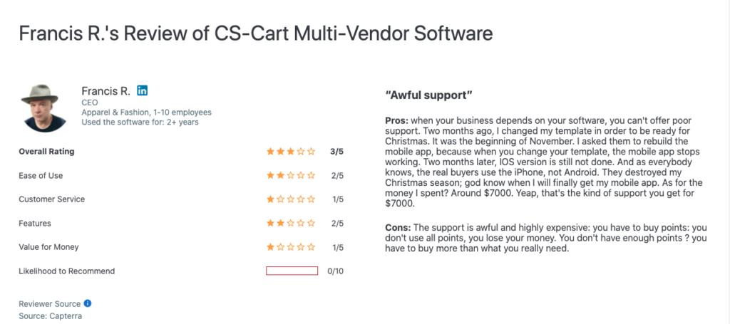 Cscart Review