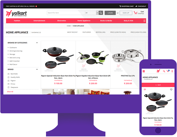 Best Designed Online Marketplace