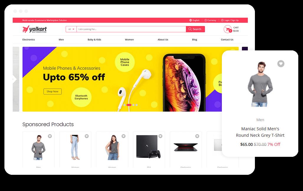 Multi-Vendor Marketplace Platform | Multi-Seller eCommerce
