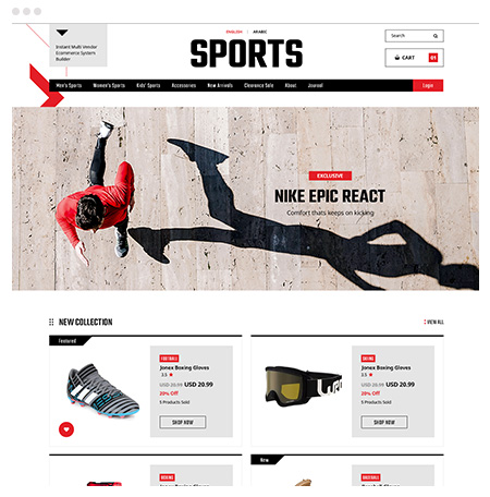 Launch sports marketplace